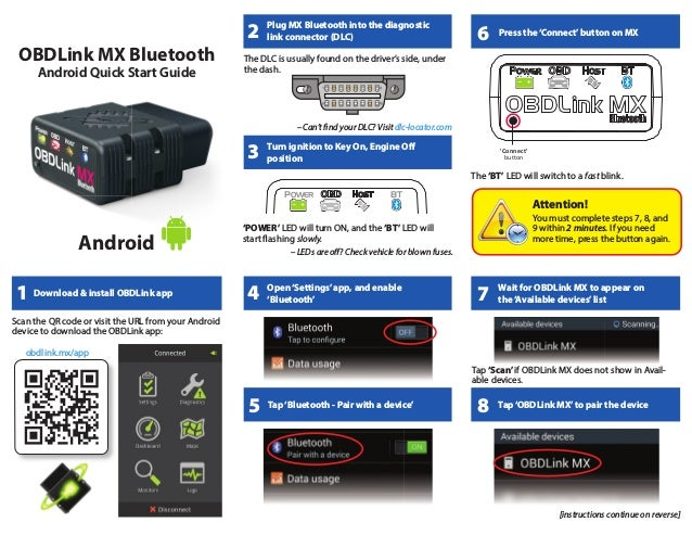 OBDLink MX bluetooth