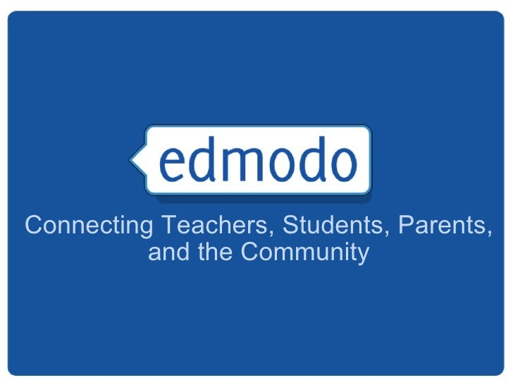 Connecting Teachers, Students, Parents, and the Community