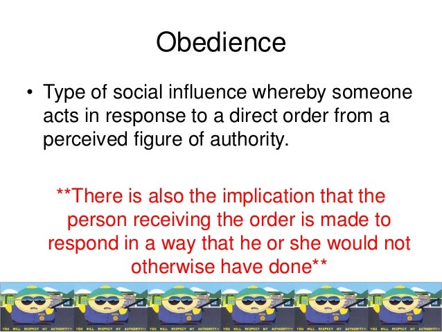 a thesis on effects of an authority figure on obedience