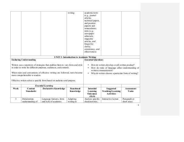 Technical writing audience and purpose worksheet