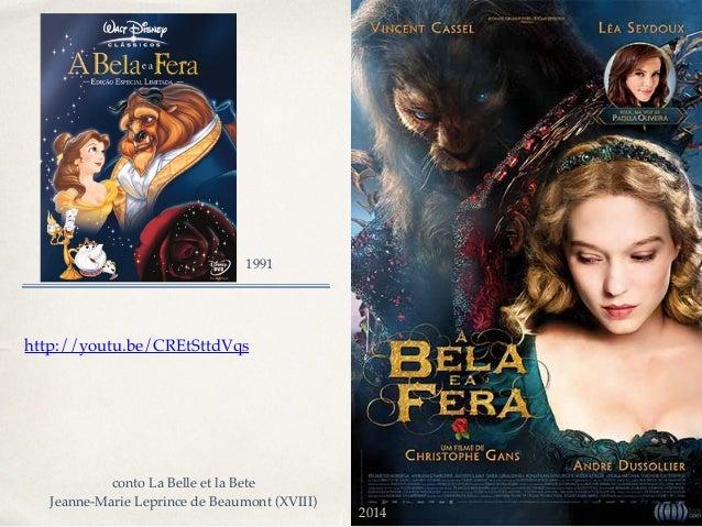 01 http://youtu.be/CREtSttdVqs 1991 2014 conto La Belle et la Bete! Jeanne-Marie Leprince de Beaumont (XVIII)