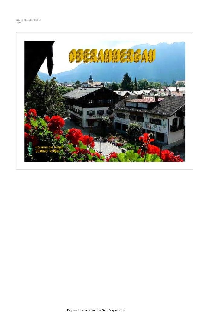 sábado, 21 de abril de 201223:33                              Página 1 de Anotações Não Arquivadas