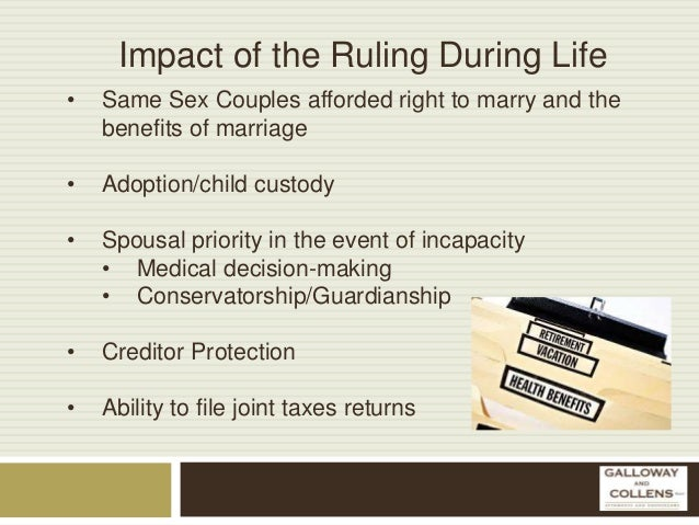 Guardianship in same sex marriage