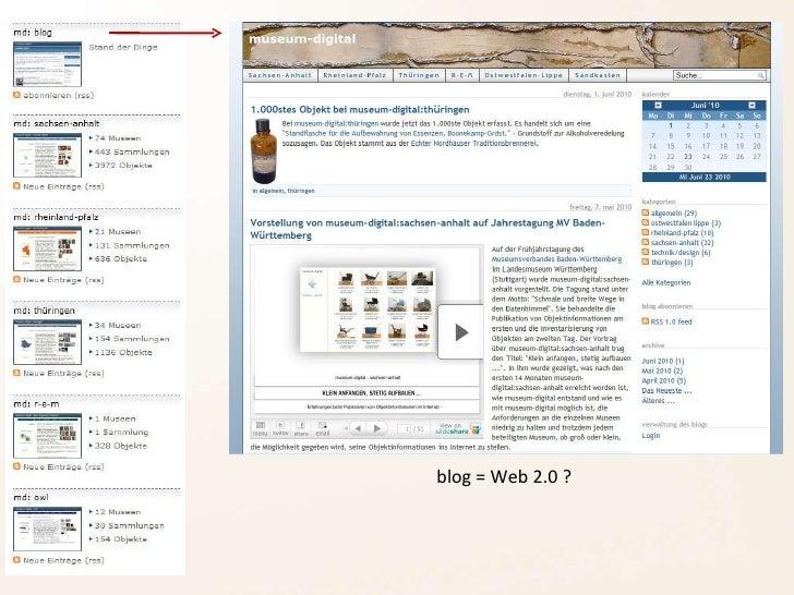 blog = Web 2.0 ?