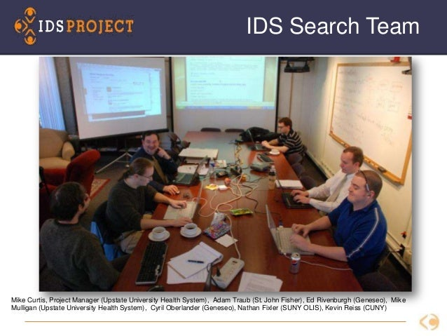 22 Mike Curtis, Project Manager (Upstate University Health System), Adam Traub (St. John Fisher), Ed Rivenburgh (Geneseo),...