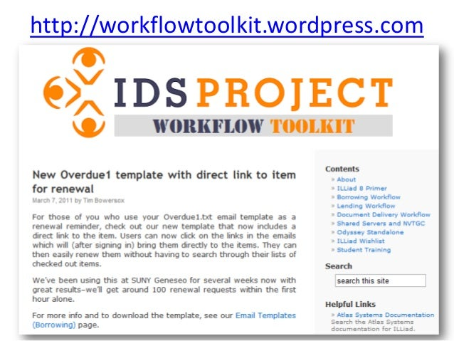 http://workflowtoolkit.wordpress.com