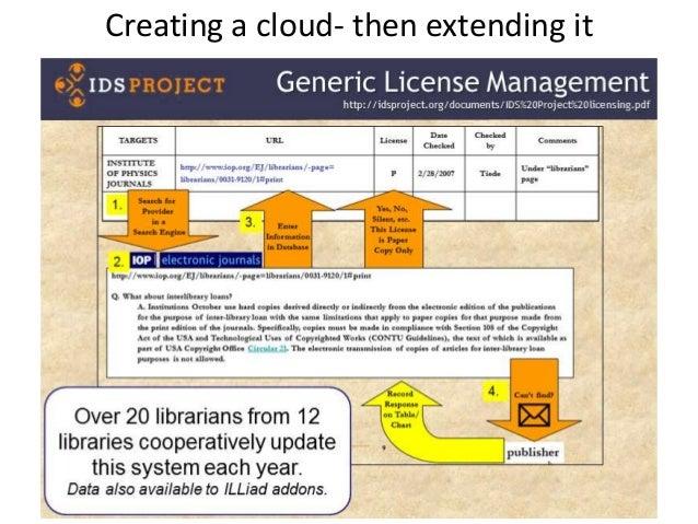 Creating a cloud- then extending it