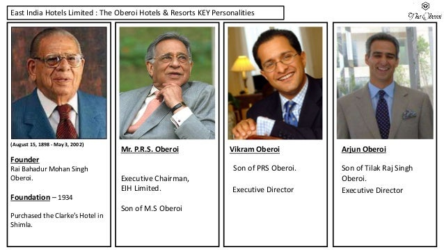 Ppt On Oberoi Hotels