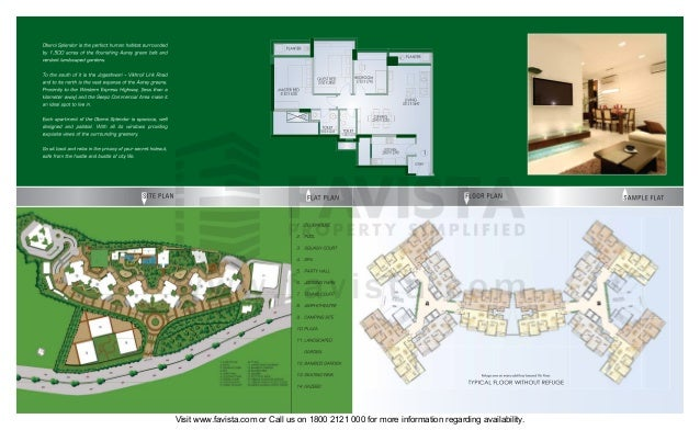 Oberoi splendor brochure 673 Favista Real Estate