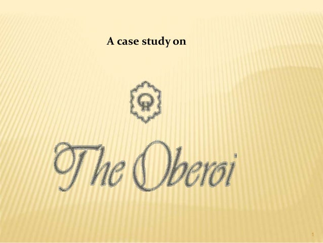 A case study on 1
