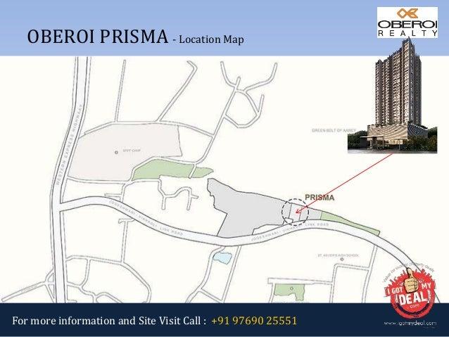 Oberoi Prisma At Jvlr Road Andheri East Mumbai