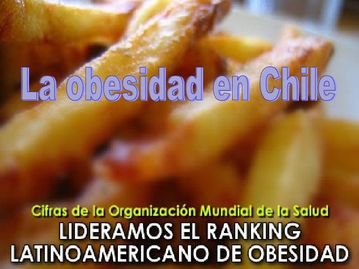 La obesidad en Chile