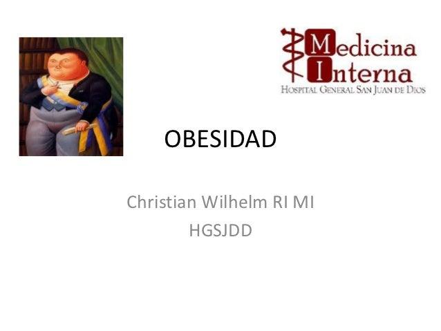 OBESIDADChristian Wilhelm RI MI        HGSJDD