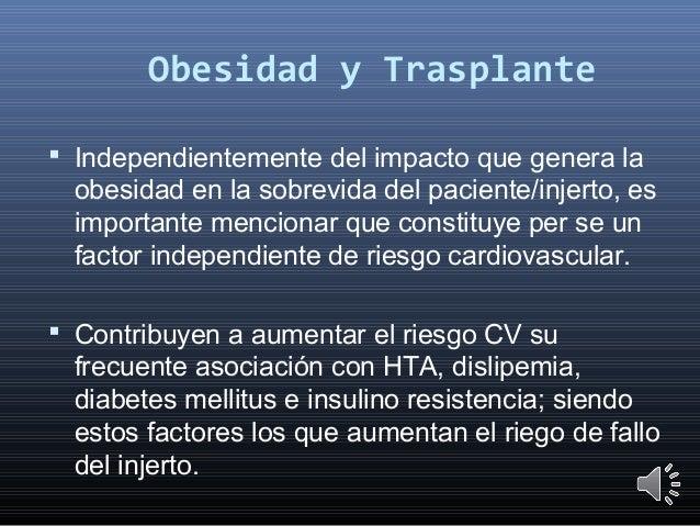 Obesidad y evaluación pretrasplante
