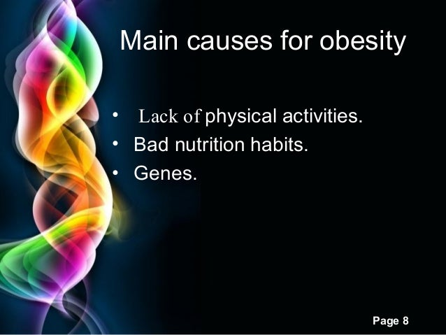 obesity, Modern powerpoint