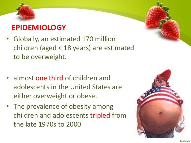 Obesity in the united states prevalence