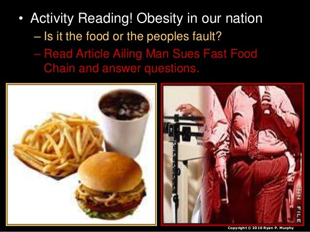 How come May Rapidly Foods Bring about Obesity?