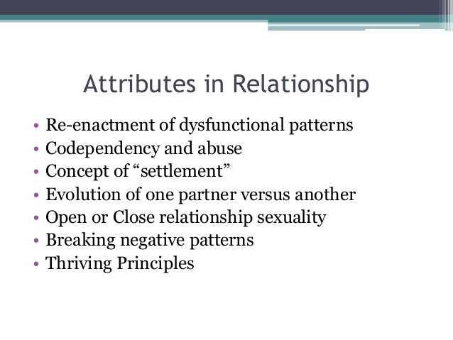 Codependency and sexuality
