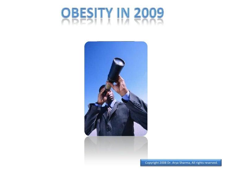 Obesity in 2009<br />