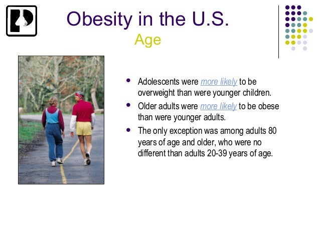 obesity in youths Understand the health problems linked to obesity and find statistics for adult and childhood obesity though rare in youth ages 12 to 19 years.