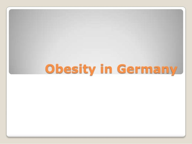Obesity in Germany