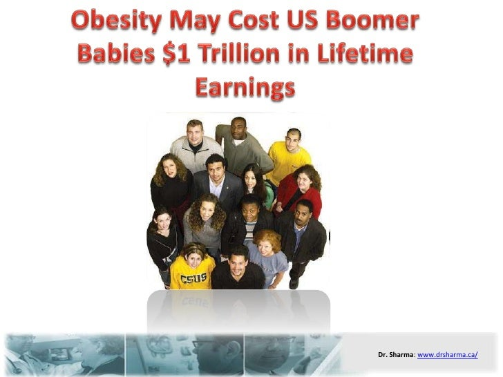 Obesity May Cost US Boomer Babies $1 Trillion in Lifetime Earnings<br />