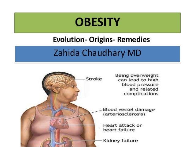 OBESITY Evolution- Origins- Remedies  Zahida Chaudhary MD