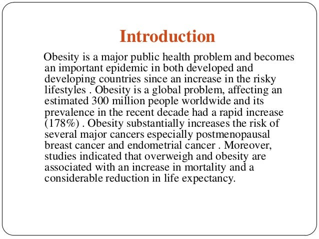 Obesity essay topics