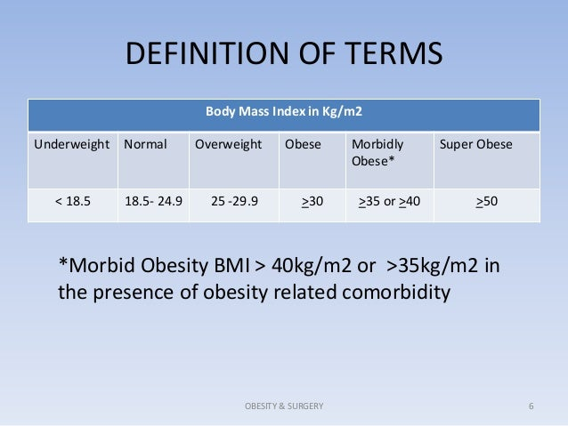 obesity definition Obesity: obesity, excessive accumulation of body fat, usually caused by the consumption of more calories than the body can use the excess calories are then stored as fat, or adipose tissue.