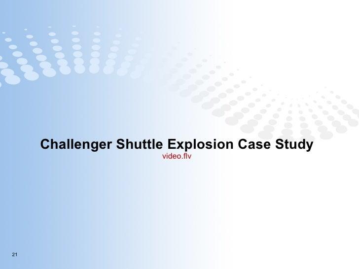 Challenger Shuttle Explosion Case Study video.flv