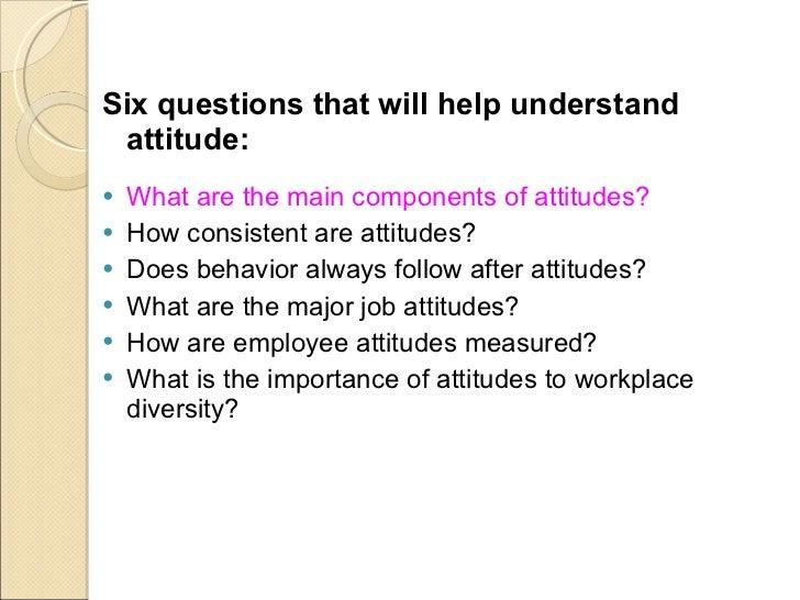 Attitude & Job Satisfaction Slide 3