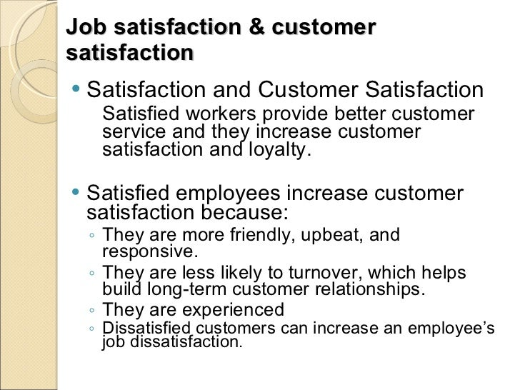 how workers attitude and job satisfaction Lationships among restaurant employees' attitudes, demographics, work-related variables (wrv), and job satisfaction after the introduction of a smoke-free.