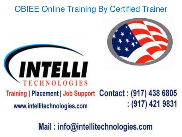 OBIEE Online Training By Certified Trainer
