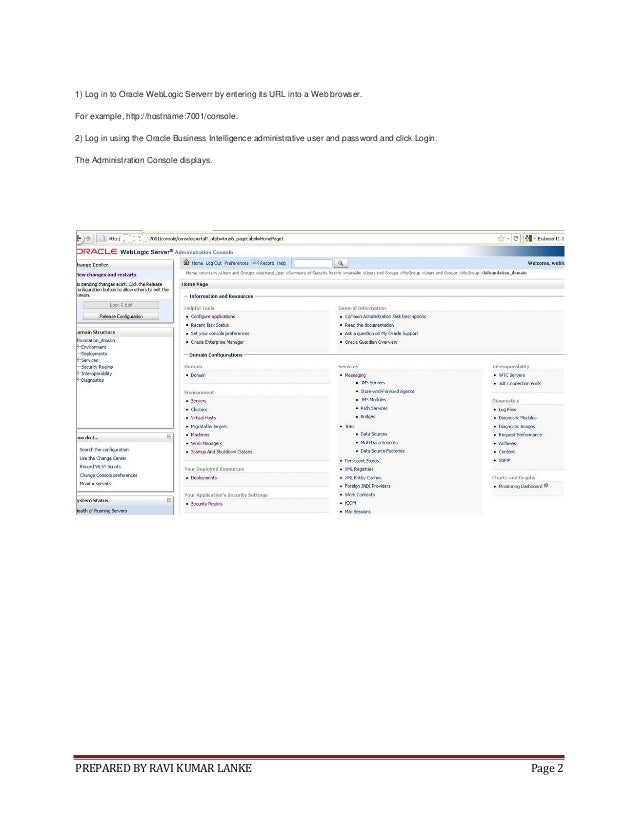 Obiee 11g security creating users groups and catalog permissions