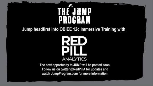 www.RedPillAnalytics.com info@RedPillAnalytics.com @RedPillA © 2016 RED PILL Analytics Red Pill Analytics Sessions at UTOU...