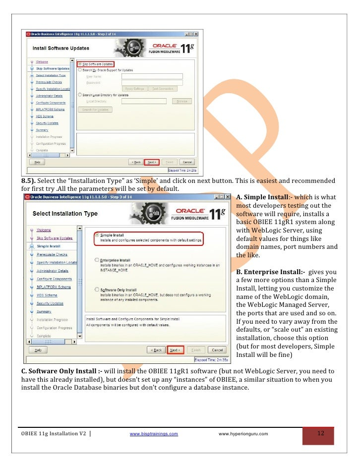obiee installation guide v2 rh slideshare net obiee 11g linux installation guide obiee 11g installation guide pdf