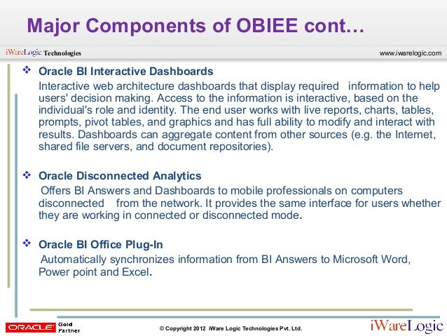 OBIEE 11g Overview Free Webcast
