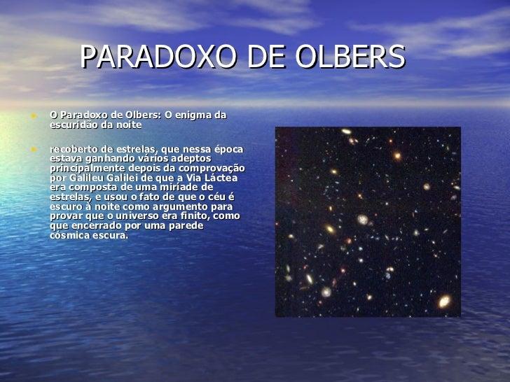 PARADOXO DE OLBERS EBOOK