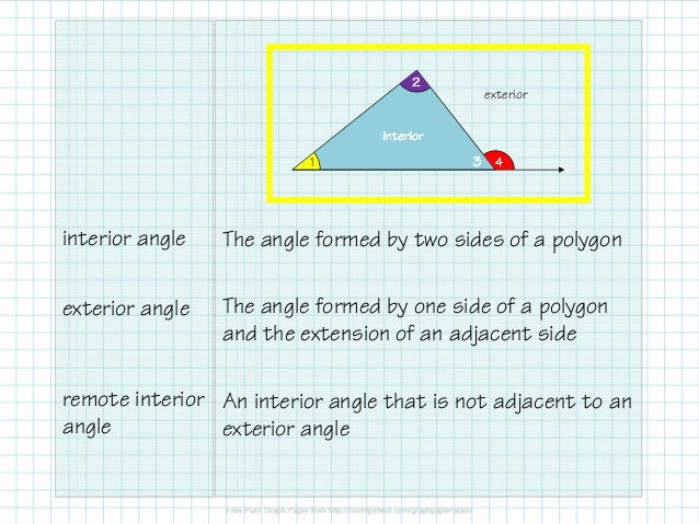 Obj 15 Triangle Angle Relationships