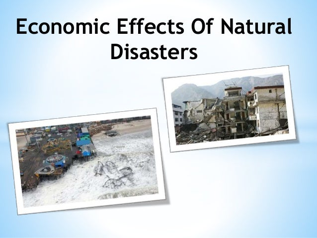 Study uncovers economic impact of natural disasters