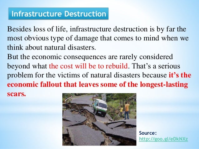 economic impacts of natural disasters Impacts of natural disasters on  they also observed that the impact of disasters on economic growth is not always  ambiente & sociedade,.