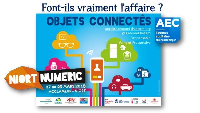 antoine.chotard@aecom.org @AntoineChotard Responsable Veille et Prospective Font-ils vraiment l'affaire ?