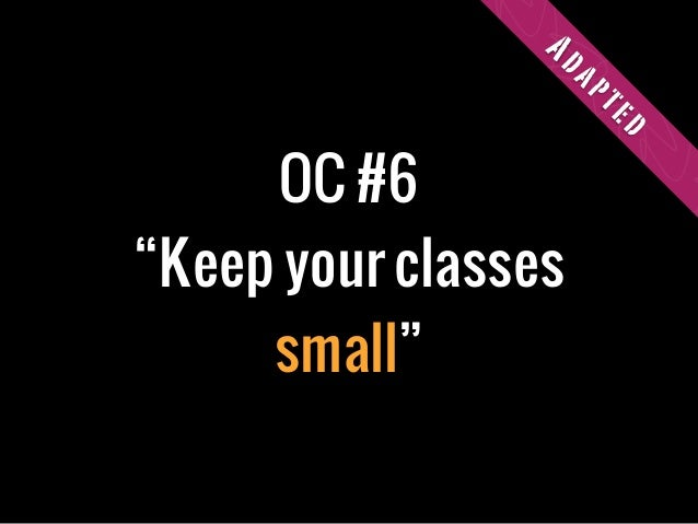 """OC #6""""Keep your classessmall""""Adapted"""
