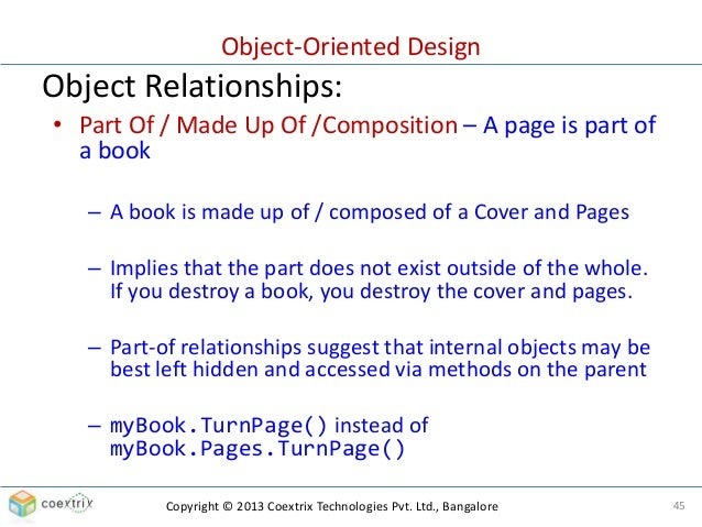 Book Cover Layout Bangalore ~ Object oriented design part