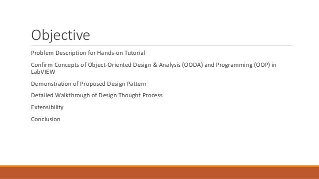 Object Oriented Concepts And Design Patterns