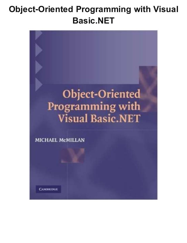 Visual Basic Programming Pdf