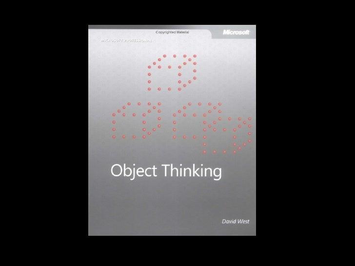 Object Thinking Slide 2