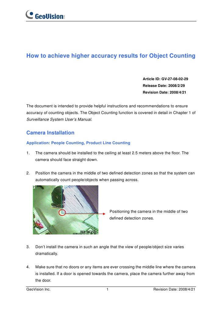 How to achieve higher accuracy results for Object Counting                                                                ...