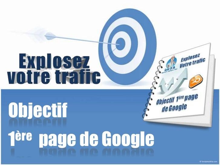 Objectif1ère   page de Google