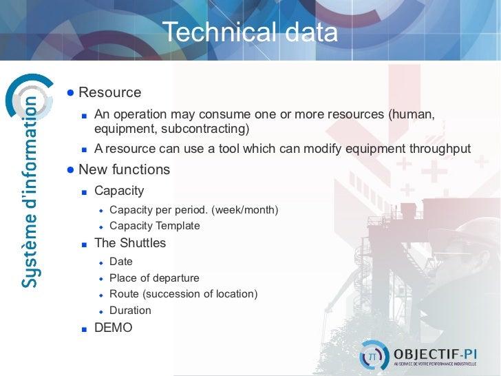 DEMO; 7. Technical data Resource ...